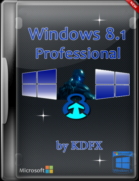 Microsoft Windows 8.1 Professional by KDFX (x86) (2014) Русский